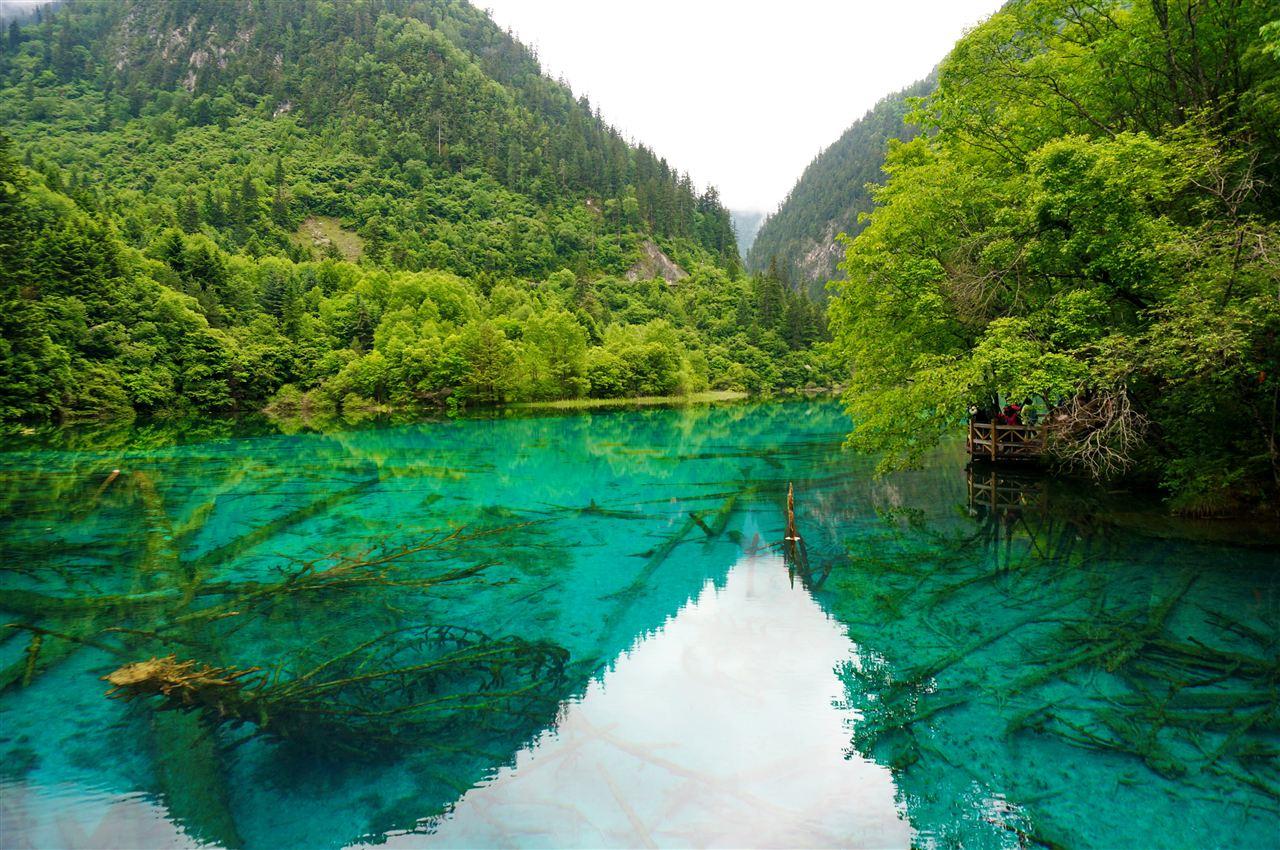 高光谱结合水化学 揭示九寨沟湖泊色彩成因